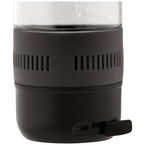 Ace 500 ml sports bottle with Bluetooth® speaker