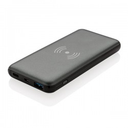 10.000 mAh Fast Charging 10W Wireless Powerbank with PD, gre