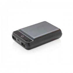 10.000 mAh pocket powerbank, black