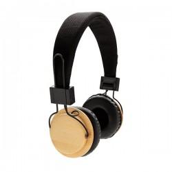 Bamboo wireless headphone, brown