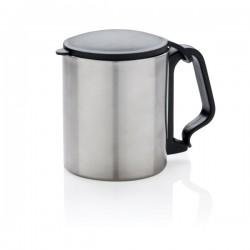 Carabiner mug small, silver
