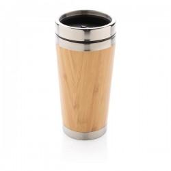 Bamboo tumbler, brown