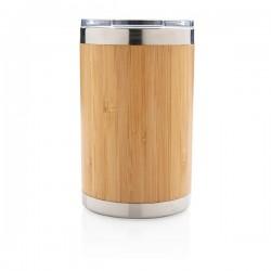 Bamboo coffee to go tumbler, brown