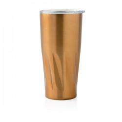 Copper vacuum insulated tumbler, golden