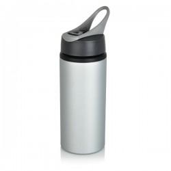 Aluminium sport bottle, grey