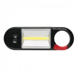 COB working light with magnet, black