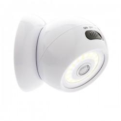 COB 360 light with motion sensor, white
