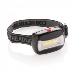 COB head torch, black