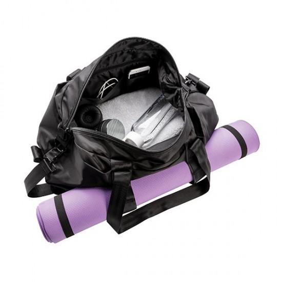 Austin yoga/gym duffle PVC free, black