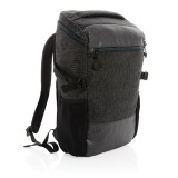 """900D easy access 15.6"""" laptop backpack PVC free, black"""