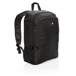 """17"""" business laptop backpack, black"""