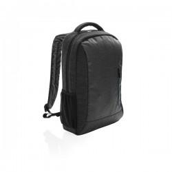 900D laptop backpack PVC free, black