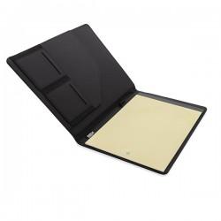 A4 basic RPET portfolio, black