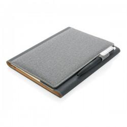 A5 Deluxe design notebook cover, grey