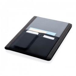A4 Portfolio with smart pocket, black